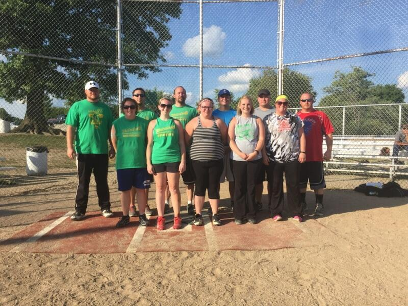 1st Place Co-Ed Softball Winners