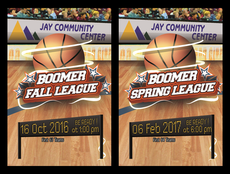 Fall and Spring Basketball League